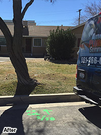 Trenchless Sewer Repair and Replacement in Lancaster and Palmdale, CA - After
